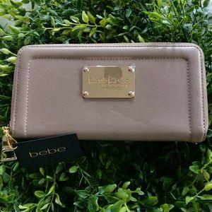 Bebe Wallet taupe/ zip around